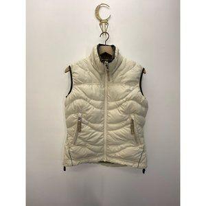 REI 100% Polyester Sleeveless Vest White Size XS
